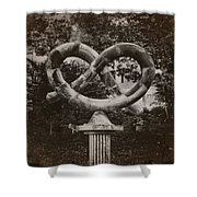 Pretzel Park - Manayunk Shower Curtain