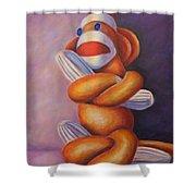 Pretzel Shower Curtain