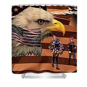 Price Of Freedom Shower Curtain
