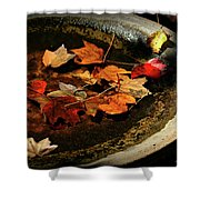 Priceless Leaves Fall Shower Curtain