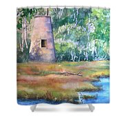 Price's Creek Light Shower Curtain