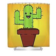 Prickle Shower Curtain