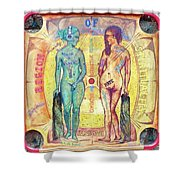 Pride And Envy Shower Curtain