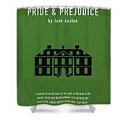 Pride And Prejudice Greatest Books Ever Series 016 Shower Curtain