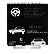 Pride Connecticut Limo Shower Curtain