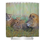 Pride Family  Shower Curtain
