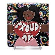 Pride Goddess Shower Curtain