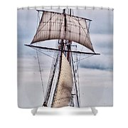 Pride Of Baltimore II  5986 Shower Curtain