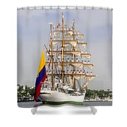 Pride Of Columbia Shower Curtain