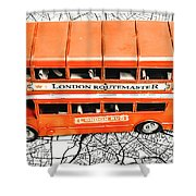 The Pride Of London Shower Curtain