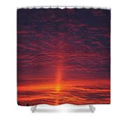 Pride Of The Prairie Sunset Shower Curtain