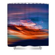 Primary Energy Shower Curtain