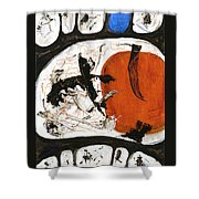 Prime Allotment Abstract Shower Curtain