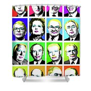 'prime Ministers Question Time X 16' Shower Curtain