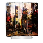 Prime Time Shower Curtain