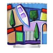 Primorski Pejsaz  11 Shower Curtain