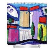 Primorski Pejsaz  12 Shower Curtain