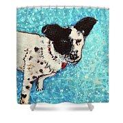 Primrose Water Love Shower Curtain