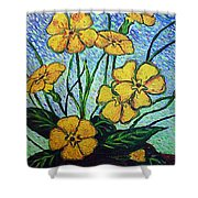 Primula Veris Shower Curtain