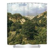 Prin Mountain View Shower Curtain