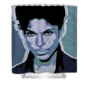 Prince #05 Nixo Shower Curtain