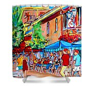 Prince Arthur Street Summer Shower Curtain