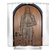 Prince At The Door Shower Curtain