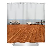 Prince Edward Island Fields 5668 Shower Curtain