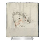 Prince Hoare The Baby Shower Curtain