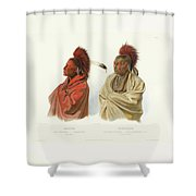 Prince Maximilian Of Wied Shower Curtain