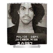 Prince Mug Shot Vertical Shower Curtain