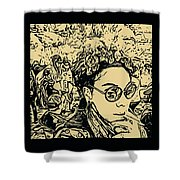 Prince Of Darkness Shower Curtain