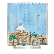 Prince Of Wales Museum Mumbai Shower Curtain