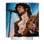 Prince Painting Shower Curtain