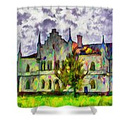 Princely Palace Shower Curtain