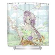 Princess Altiana Colour Shower Curtain