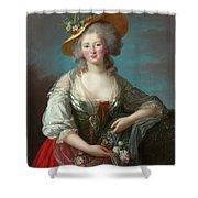 Princess Elisabeth Of France Shower Curtain