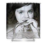 Princess Xanthe Shower Curtain