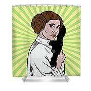 Princess Leia Shower Curtain