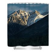 Princess Margaret Mountain Canmore Alberta Canada Shower Curtain