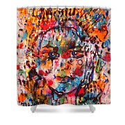 Princess Of Happiness Shower Curtain
