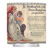 Princess Rospigliosi Ephemera Vintage Shower Curtain