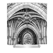 Princeton University Arched Walkway Shower Curtain