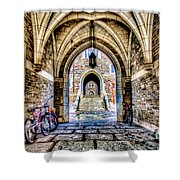 Princeton University Arches And Stairway To Education Shower Curtain