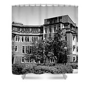 Princeton University Bloomberg Hall  Shower Curtain
