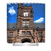 Princeton University East Pyne Hall  Shower Curtain