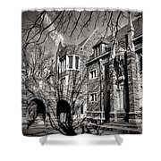 Princeton University Foulke And Henry Halls Archway Shower Curtain