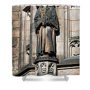 Princeton University J Witherspoon Statue  Shower Curtain