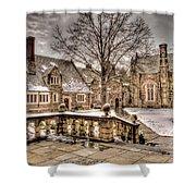 Snow / Winter Princeton University Shower Curtain