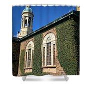 Princeton University Nassau Hall Cupola Shower Curtain